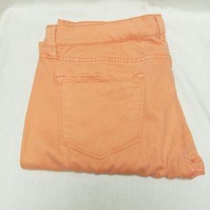 Peach Skinny Jeans by JCP